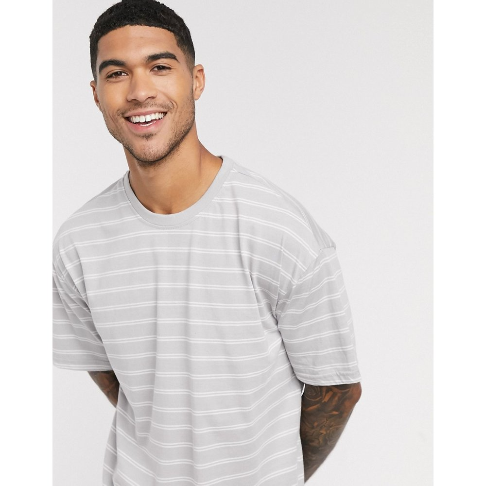 T-shirt oversize rayé - New Look - Modalova