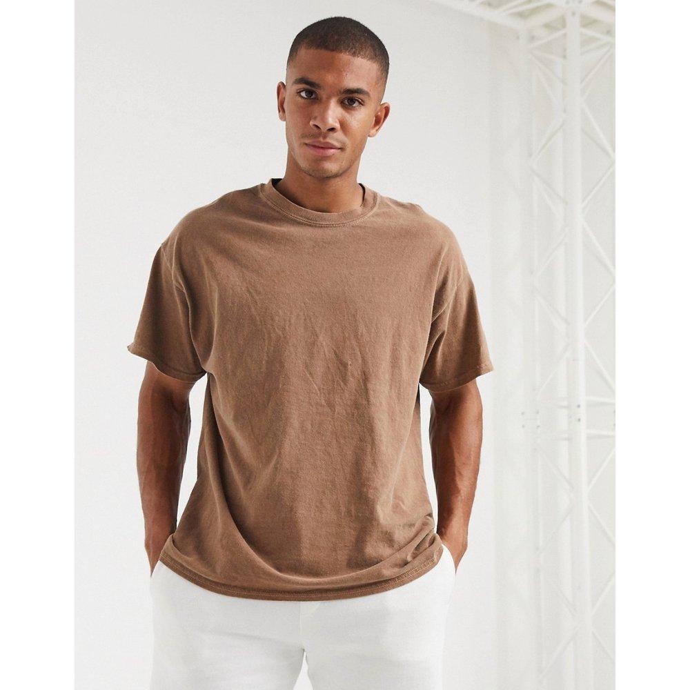 T-shirt ras de cou - foncé - New Look - Modalova