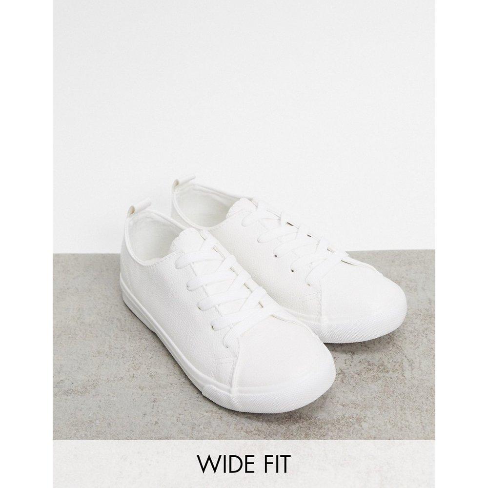 New Look Wide Fit - Baskets - Blanc - New Look - Modalova