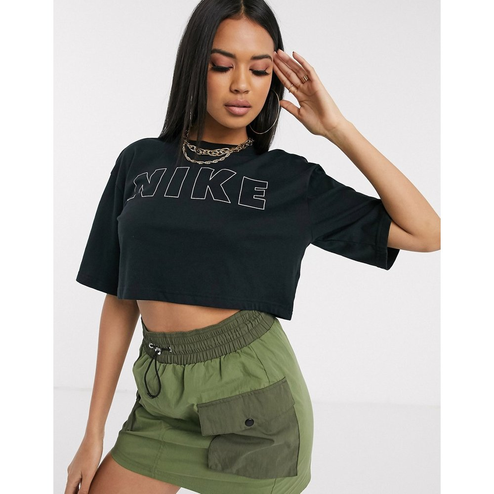 Block - T-shirt crop top avec logo - Nike - Modalova