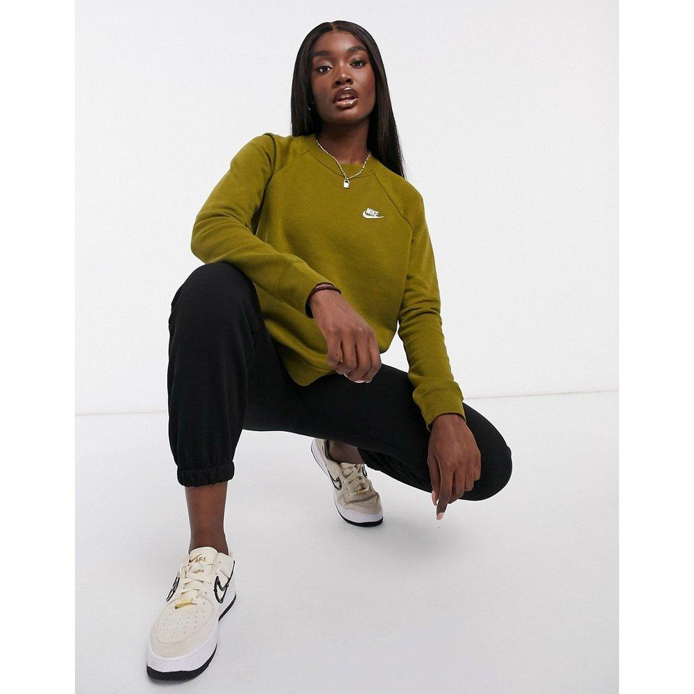 Essentials - Sweat-shirt ras de cou - kaki - Nike - Modalova