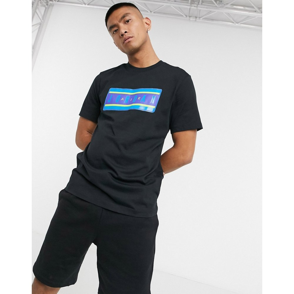 Nike - - T-shirt à imprimé autocollant - Jordan - Modalova
