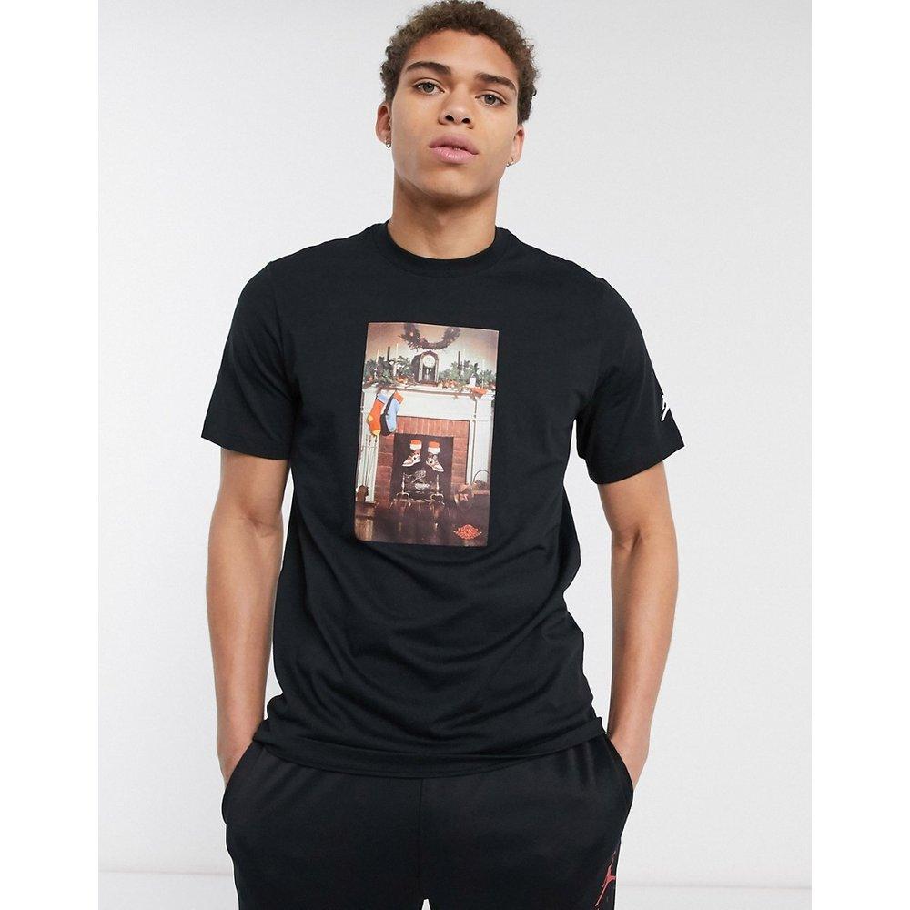 Nike - - T-shirt à imprimé cheminée - Jordan - Modalova