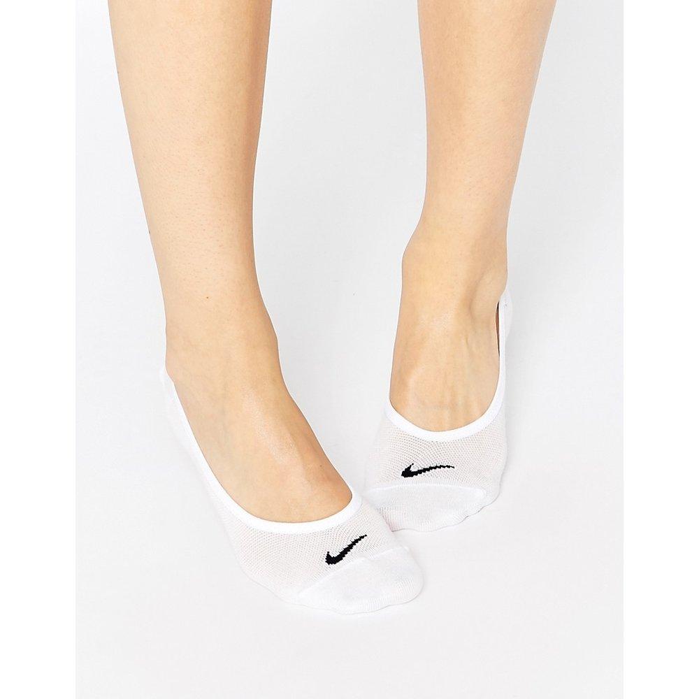 Lot de 3 paires de chaussettes invisibles légères - Nike - Modalova