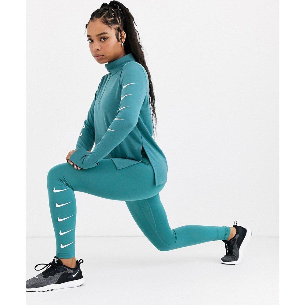Legging à logo virgule - sarcelle - Nike Running - Modalova