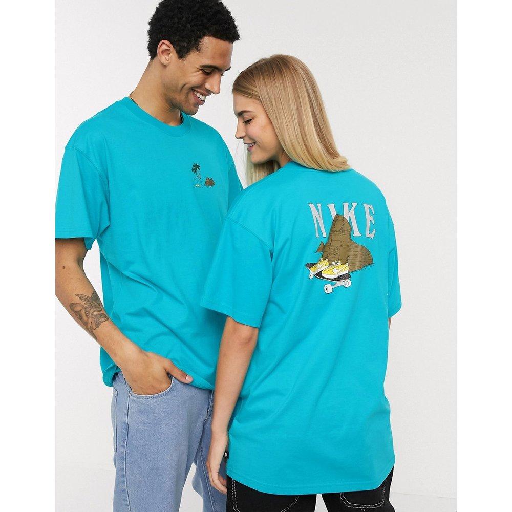 T-shirt imprimé - Turquoise - Nike SB - Modalova