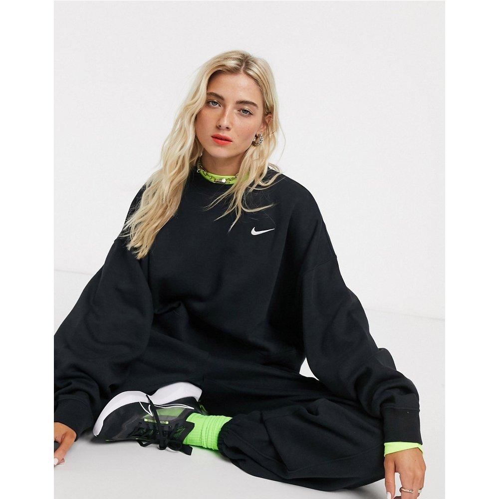 Sweat-shirt coupe carrée oversize à petit logo virgule - Nike - Modalova