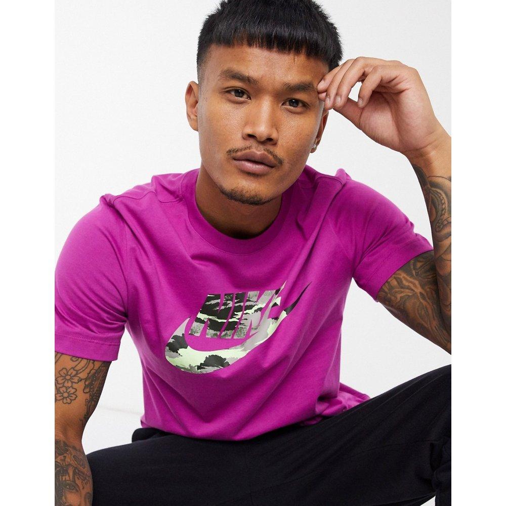 T-shirt à logo motif camouflage - Nike - Modalova
