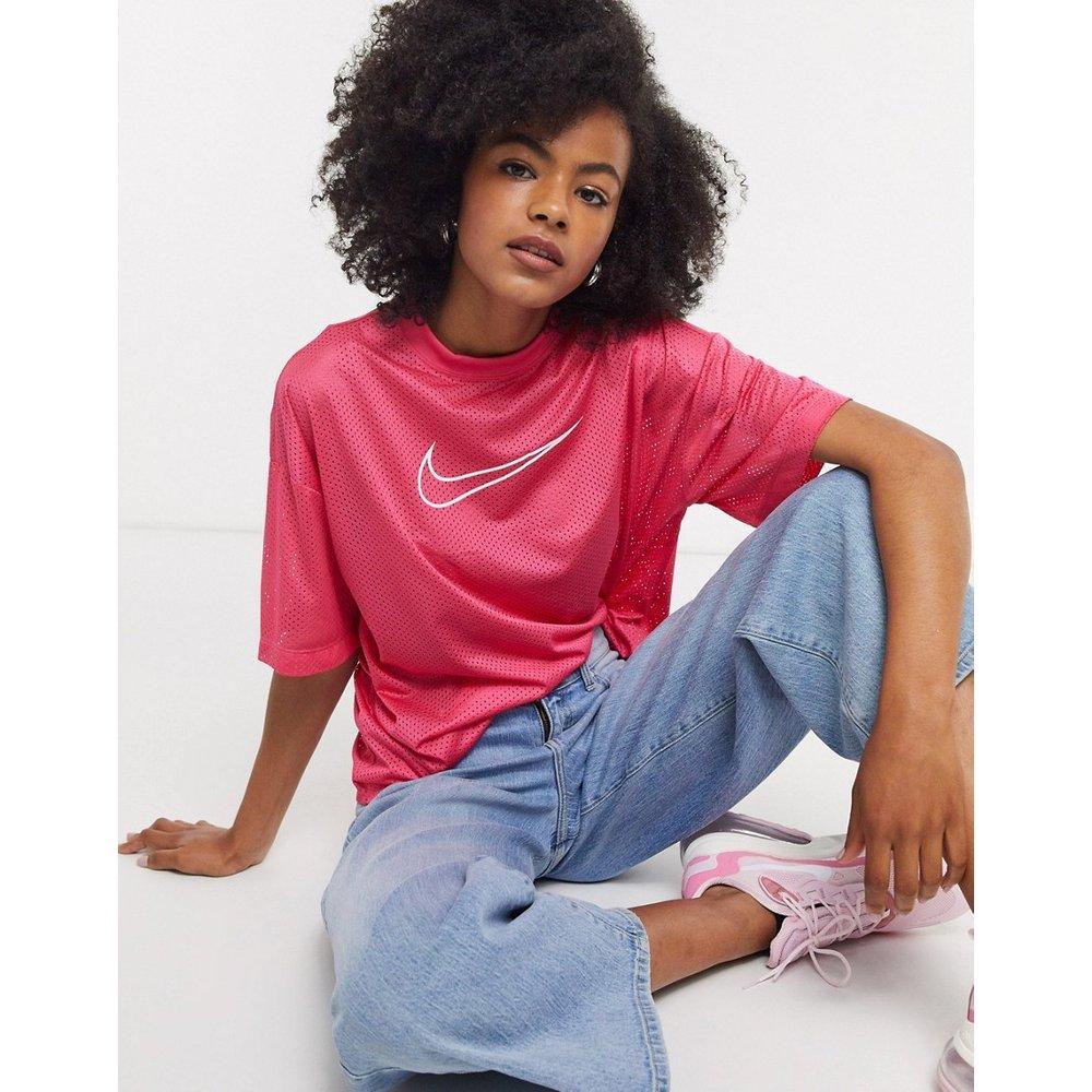 Nike - T-shirt en maille - Rose - Nike - Modalova
