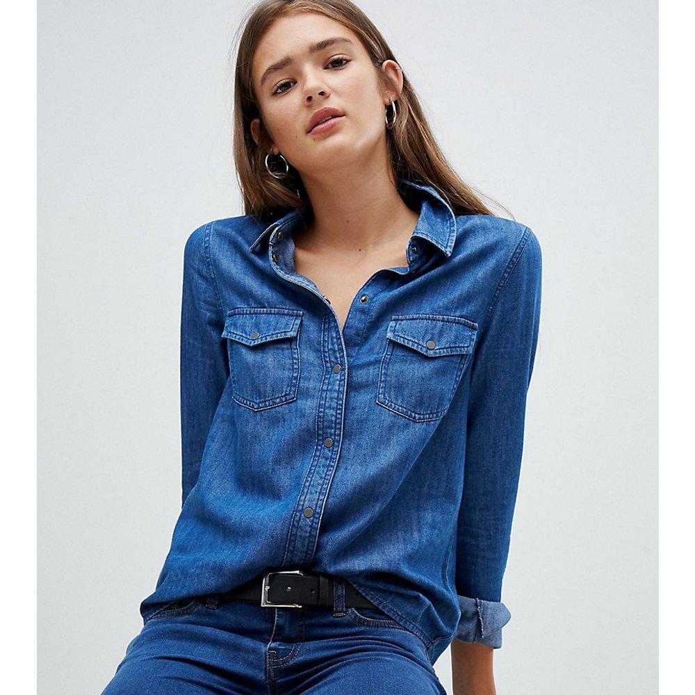 Noisy May - Chemise en jean-Bleu - Noisy May - Modalova