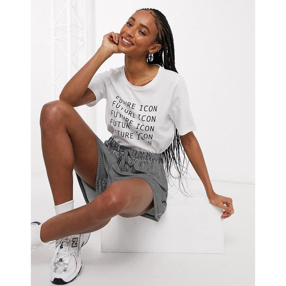 - Future - T-shirt à manches courtes - Noisy May - Modalova