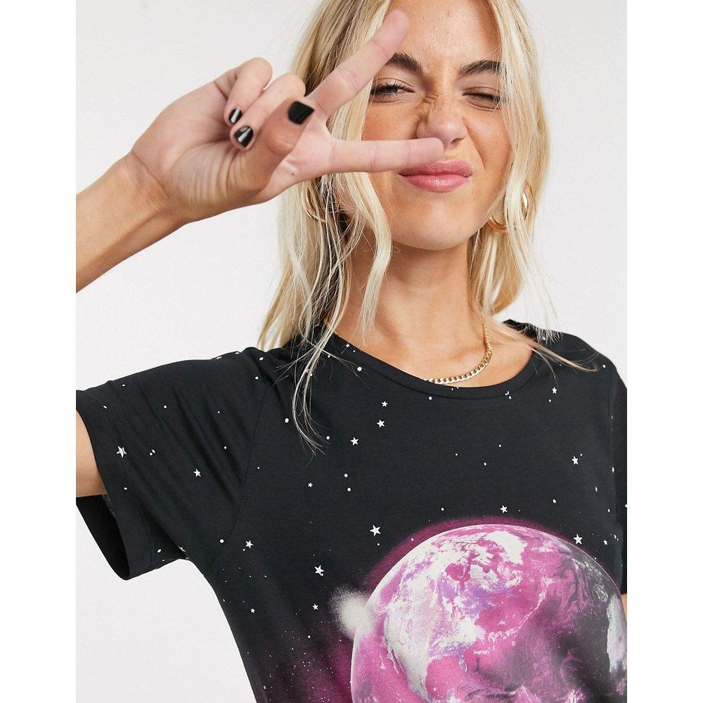 - T-shirt motif monde - Noisy May - Modalova