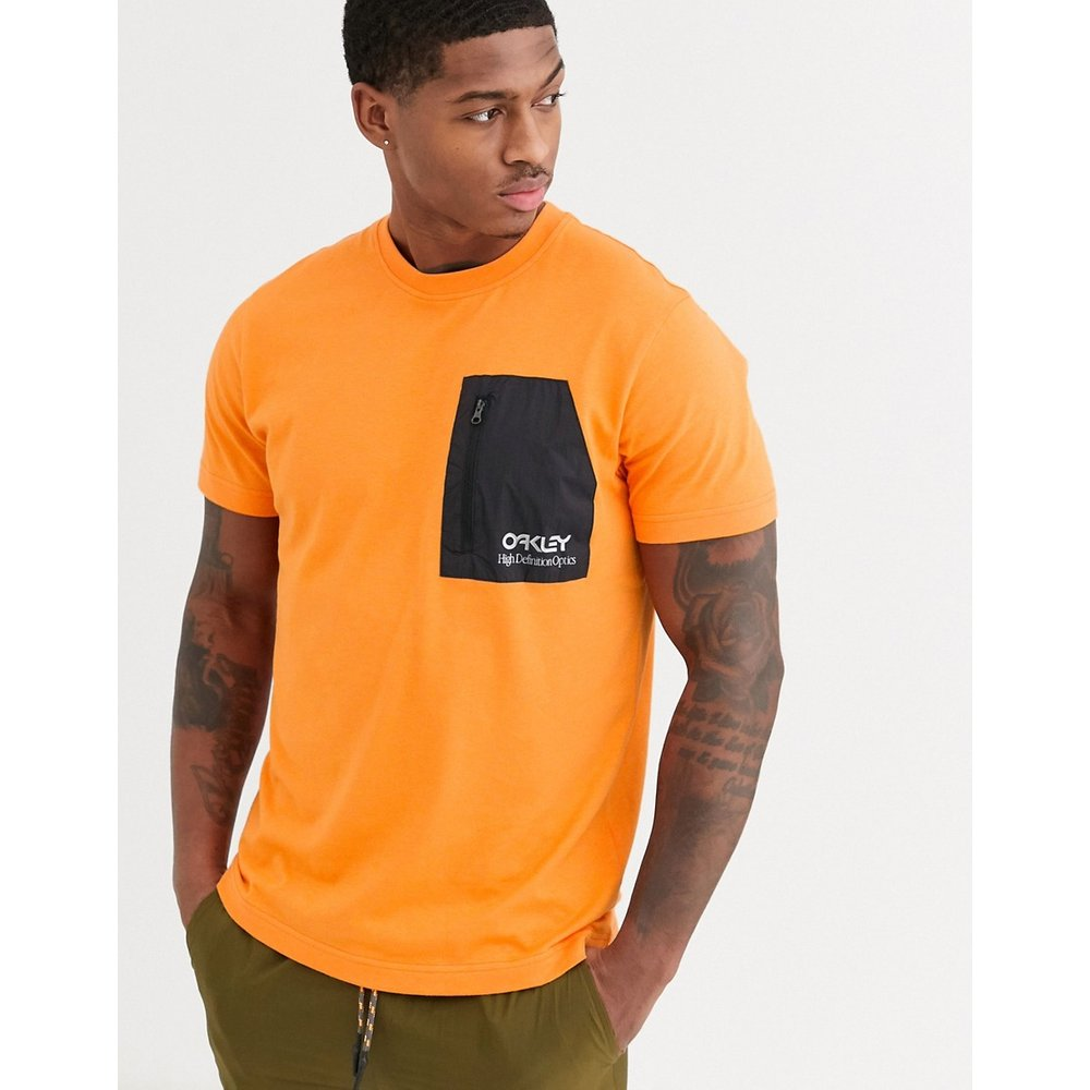 Oakley - T-shirt - Orange fluo - Oakley - Modalova