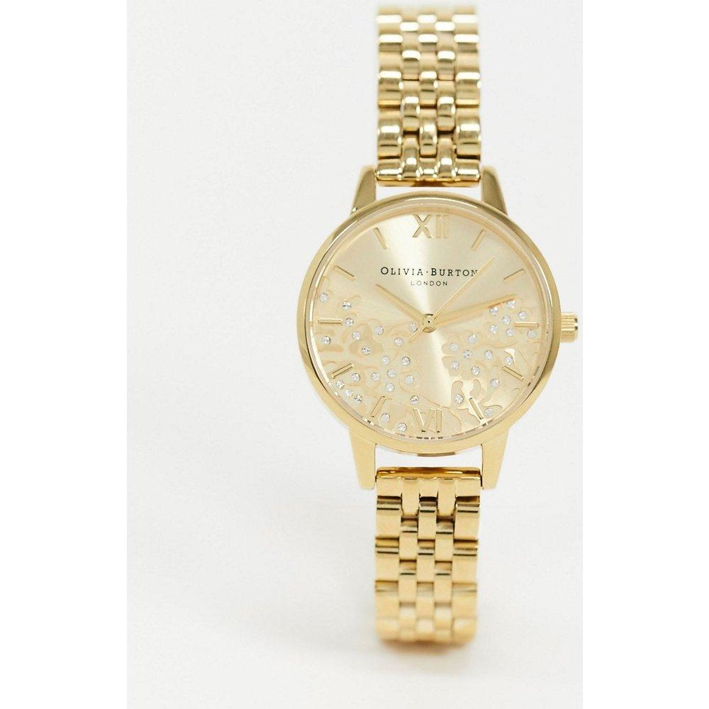 OB16MV105 - Montre-bracelet orné de bijoux - Olivia Burton - Modalova