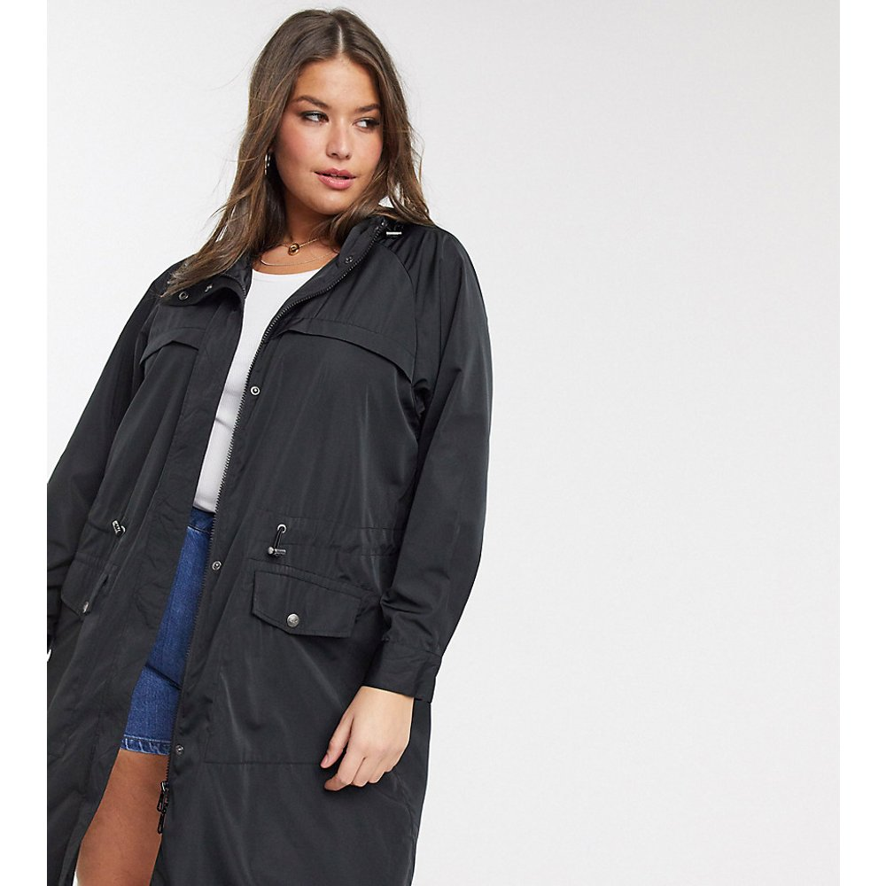 Only Curve - Anorak long - Noir - Only Curve - Modalova