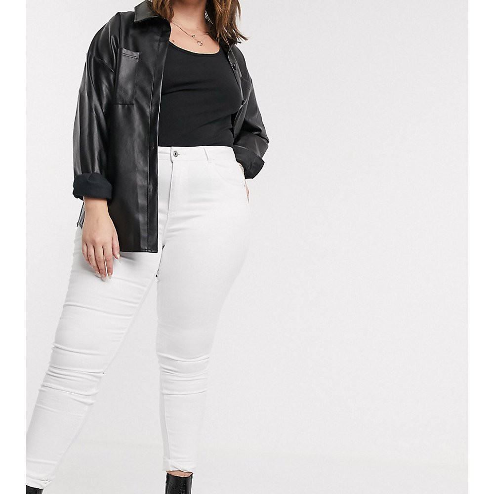 Only Curve - Jean skinny - Blanc - Only Curve - Modalova