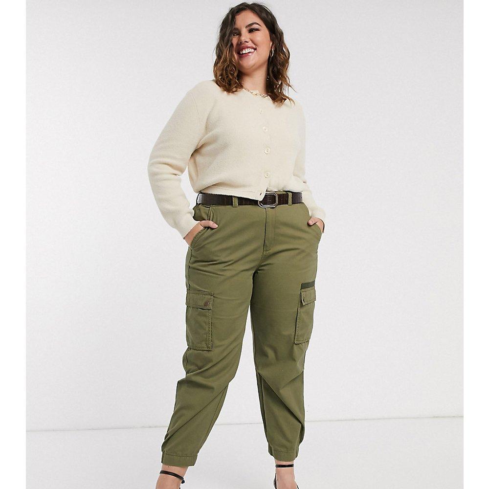 Pantalon cargo - Kaki - Only Curve - Modalova