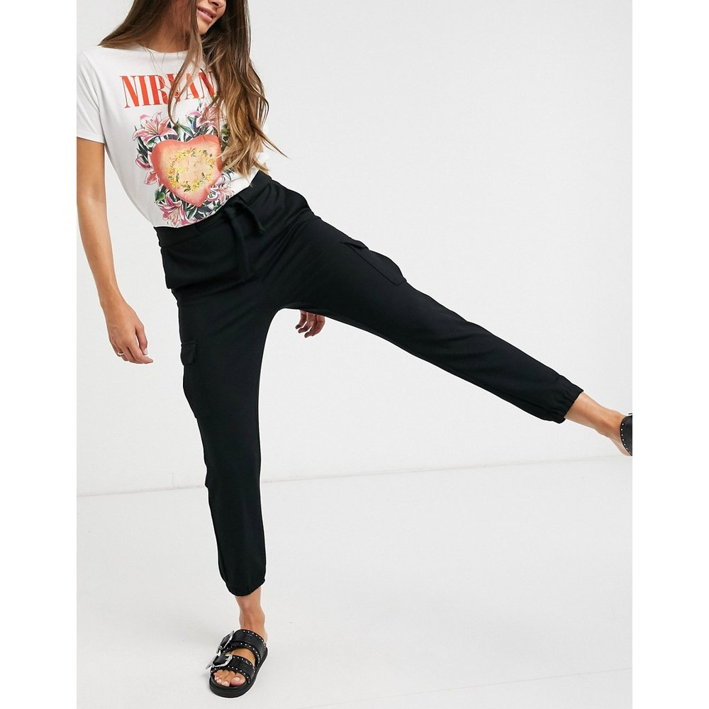 Only - Pantalon cargo - Noir - Only - Modalova