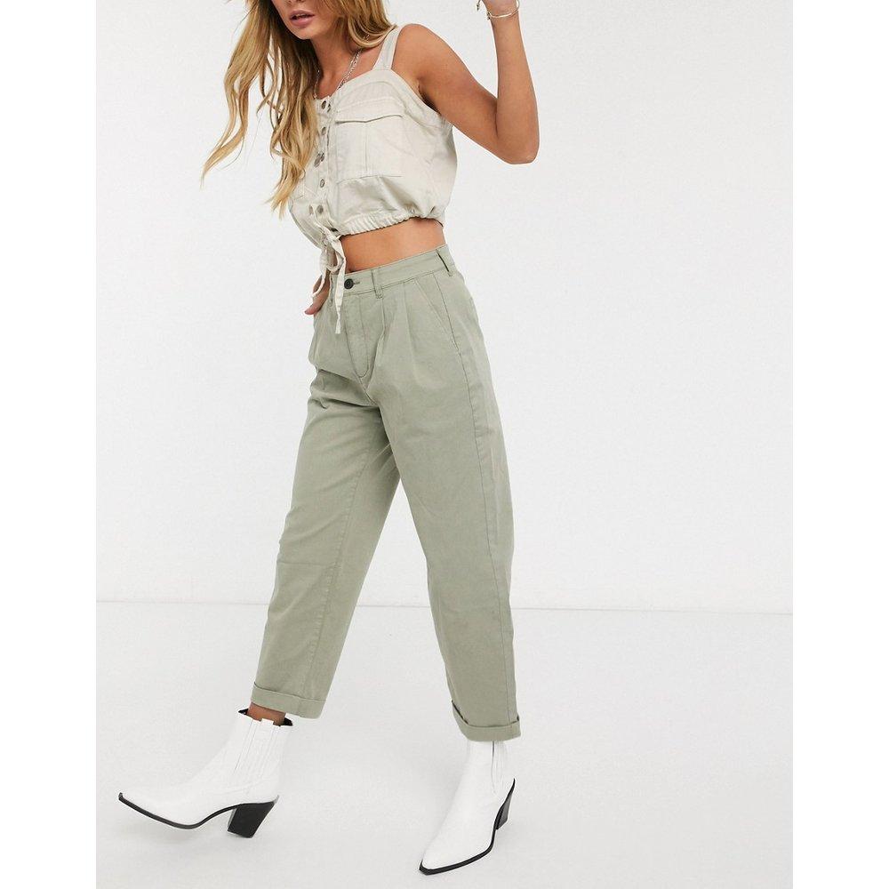 Pantalon chino fuselé à plis fantaisie - Only - Modalova