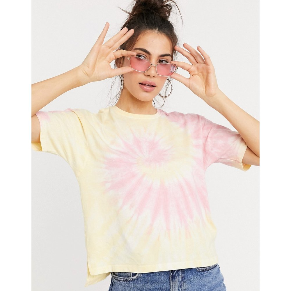 Sacha - T-shirt effet tie-dye - Only - Modalova