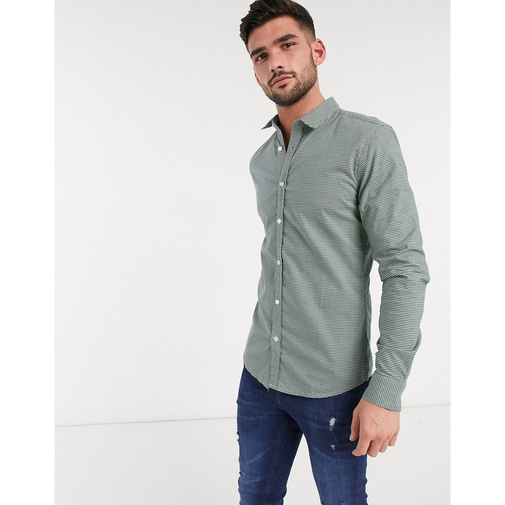 Chemise à carreaux vichy - Only & Sons - Modalova