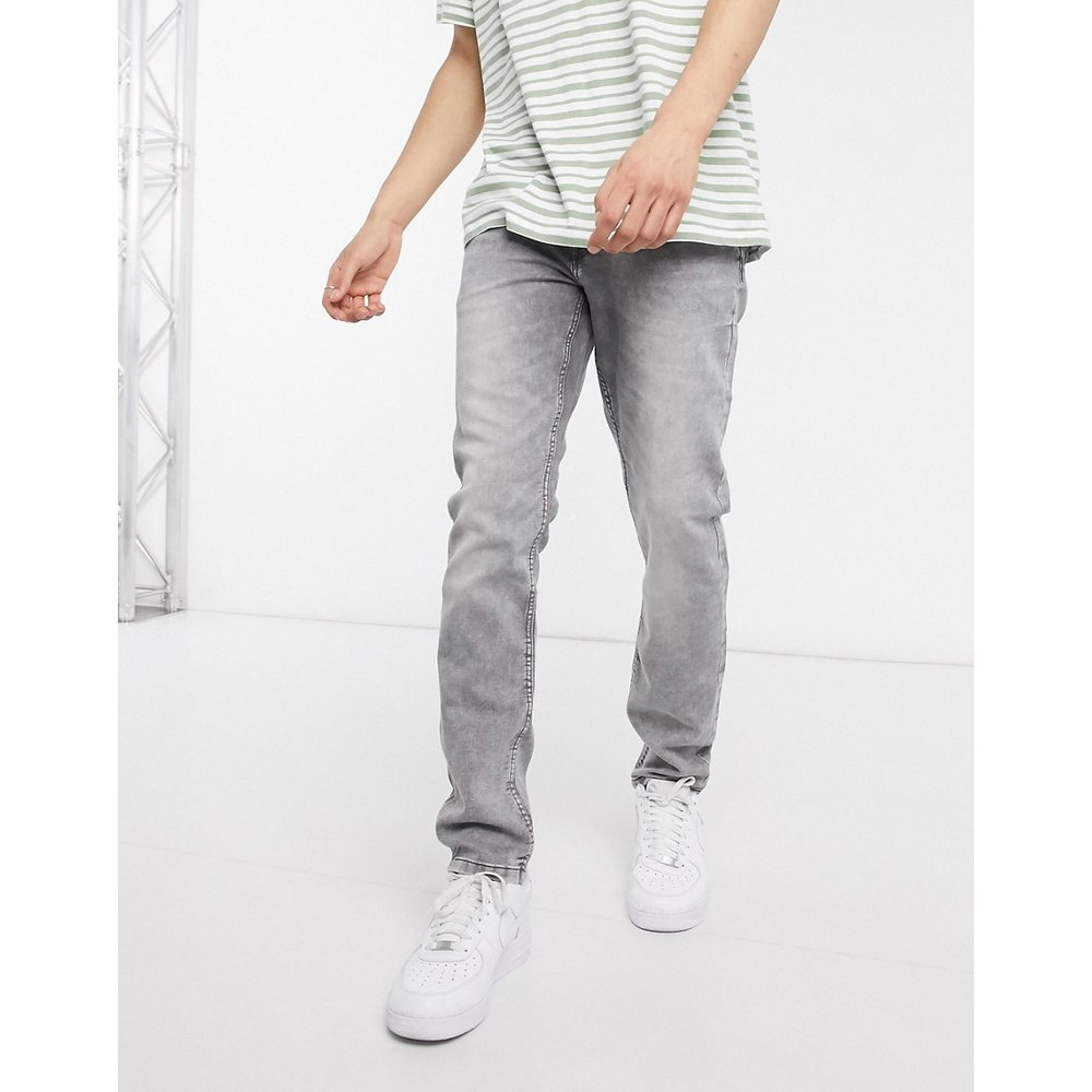 Sweat jog - Jean coupe slim - Délavage clair - Only & Sons - Modalova