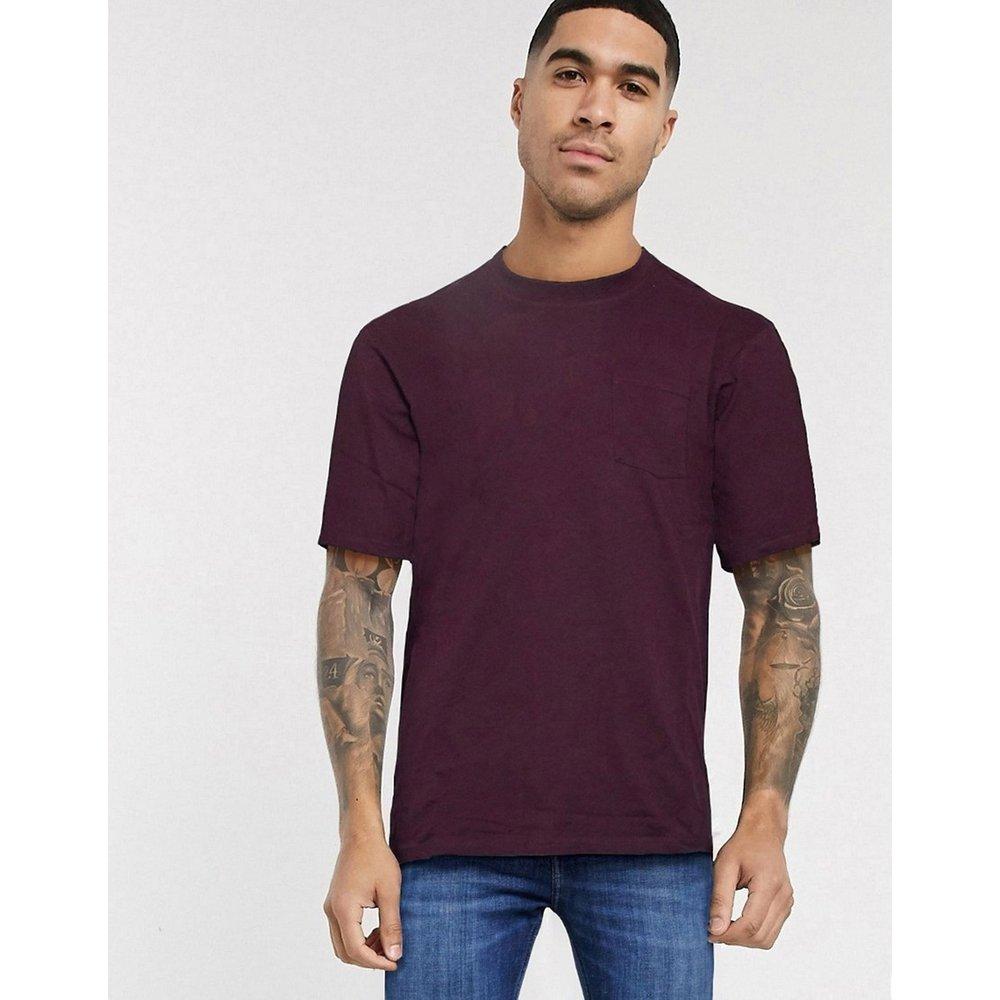 T-shirt oversize - Bordeaux - Only & Sons - Modalova