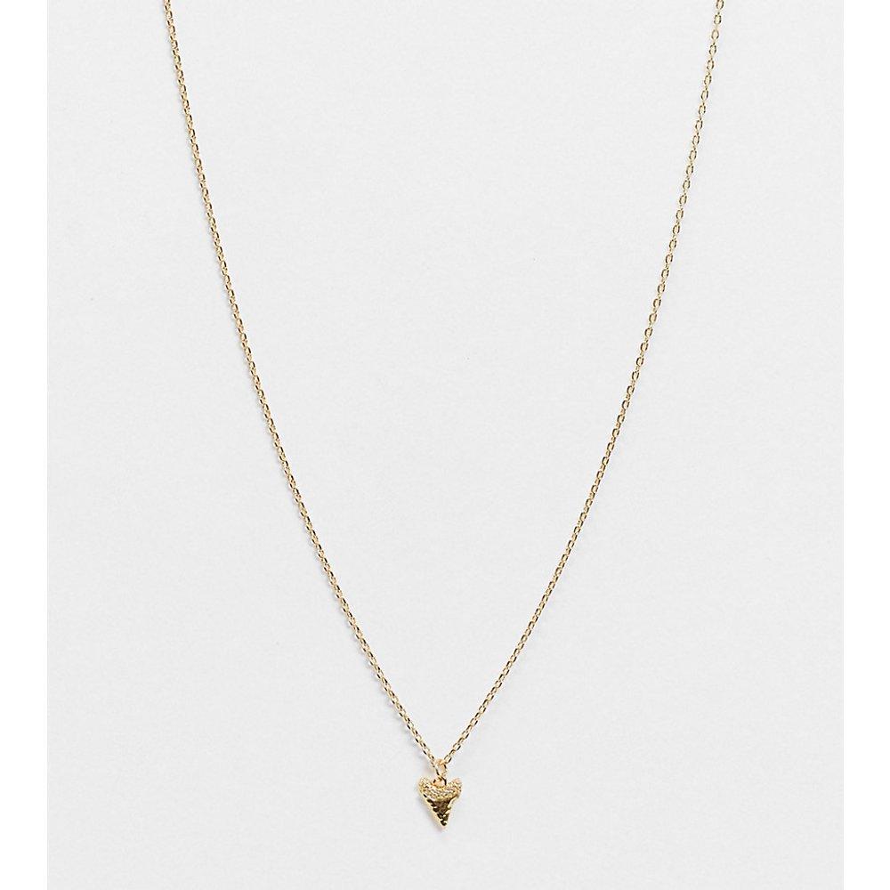 Collier plaqué or avec pendentif - Orelia - Modalova