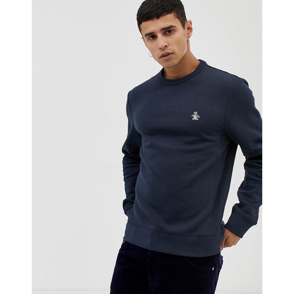 Sweat-shirt avec logo emblématique - Bleu marine - Original Penguin - Modalova
