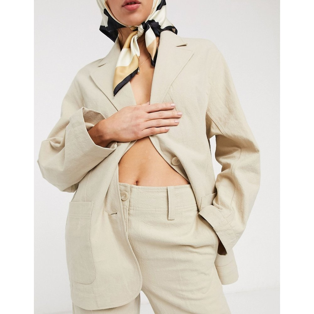 Pantalon large en lin - & Other Stories - Modalova