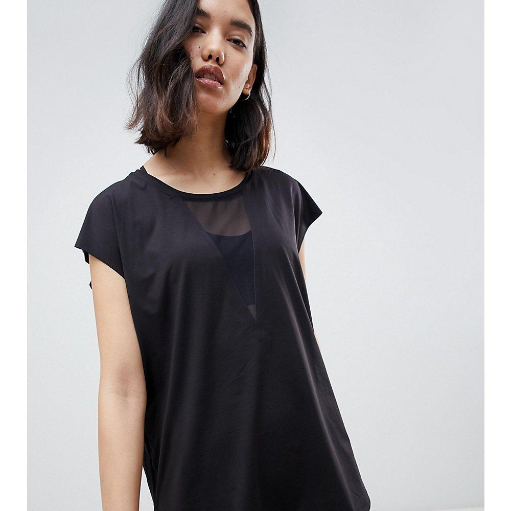 T-shirt avec devant en tulle - Oysho - Modalova