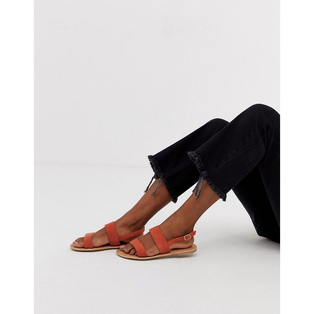 Sandales plates en cuir - Park Lane - Modalova