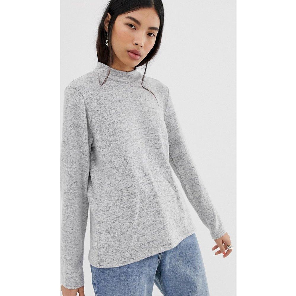Amia - Sweat-shirt à encolure haute - Pieces - Modalova