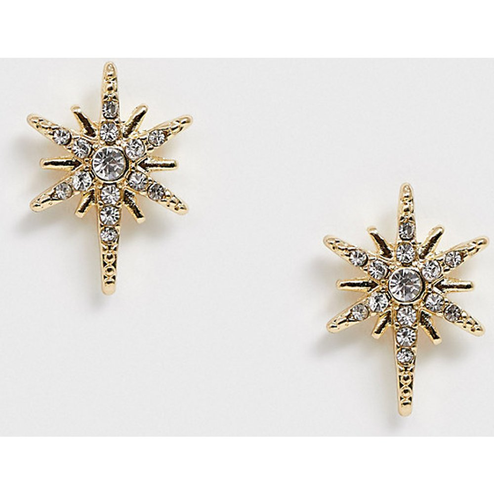 Boucles d'oreilles étoiles avec strass - Pieces - Modalova