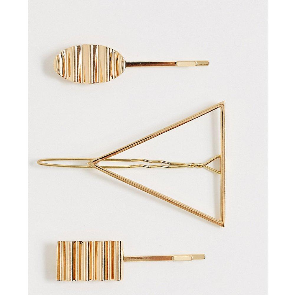 Ulla - Barrettes de formes contrastantes - Pieces - Modalova