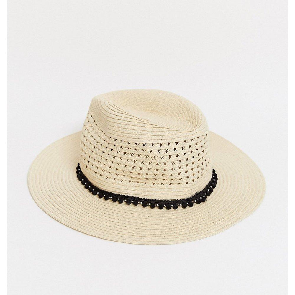 Chapeau de soleil en paille - Pimkie - Modalova