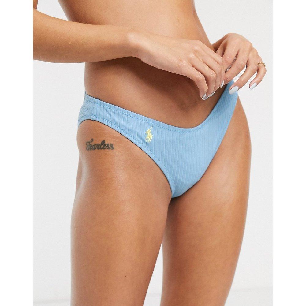 Bas de bikini côtelé en forme de V - Polo Ralph Lauren - Modalova