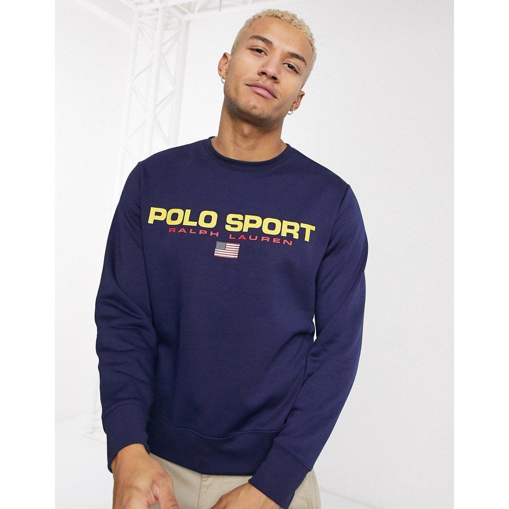 Polo Sport Capsule - Sweat-shirt à grand logo - Bleu marine - Polo Ralph Lauren - Modalova