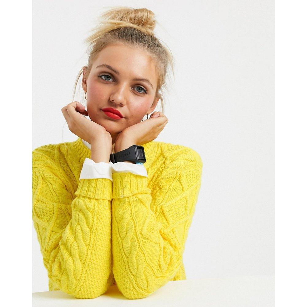 Pull en maille torsadée - pop - Polo Ralph Lauren - Modalova