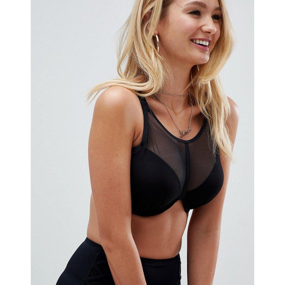 Beachbound - Poitrines généreuses - Haut de bikini à armatures et encolure ronde, bonnets B à G - Pour Moi - Modalova