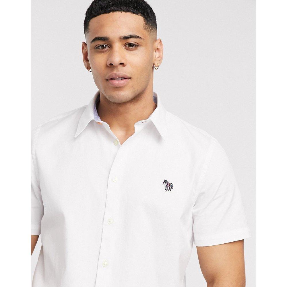 Chemise manches courtes à logo zèbre - PS Paul Smith - Modalova