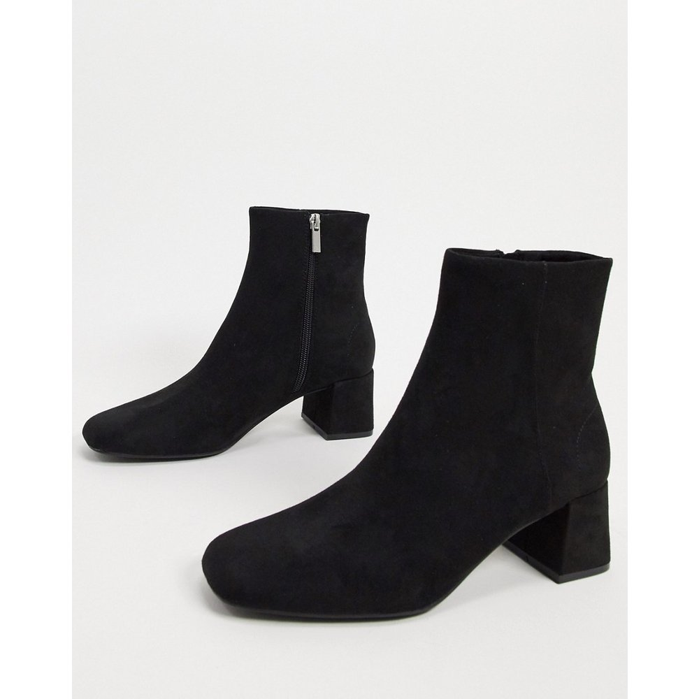 Bottines aspect daim - Pull&Bear - Modalova