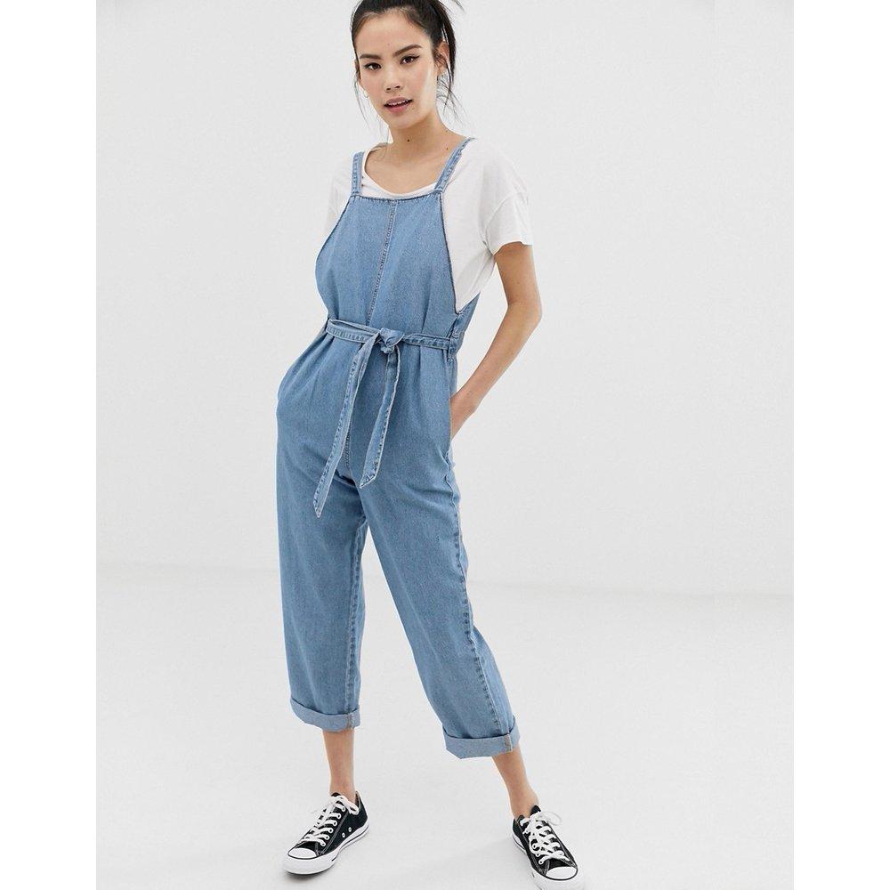 Combinaison en jean - clair - Pull&Bear - Modalova