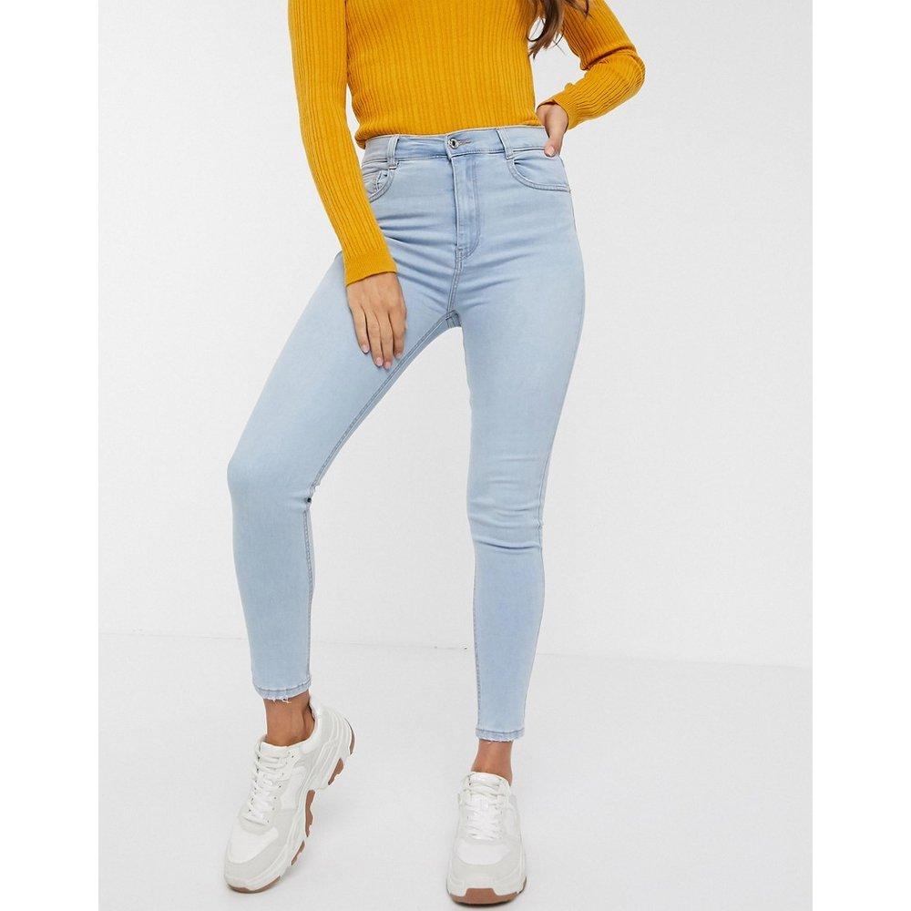 Jean skinny basique taille haute - clair - Pull&Bear - Modalova