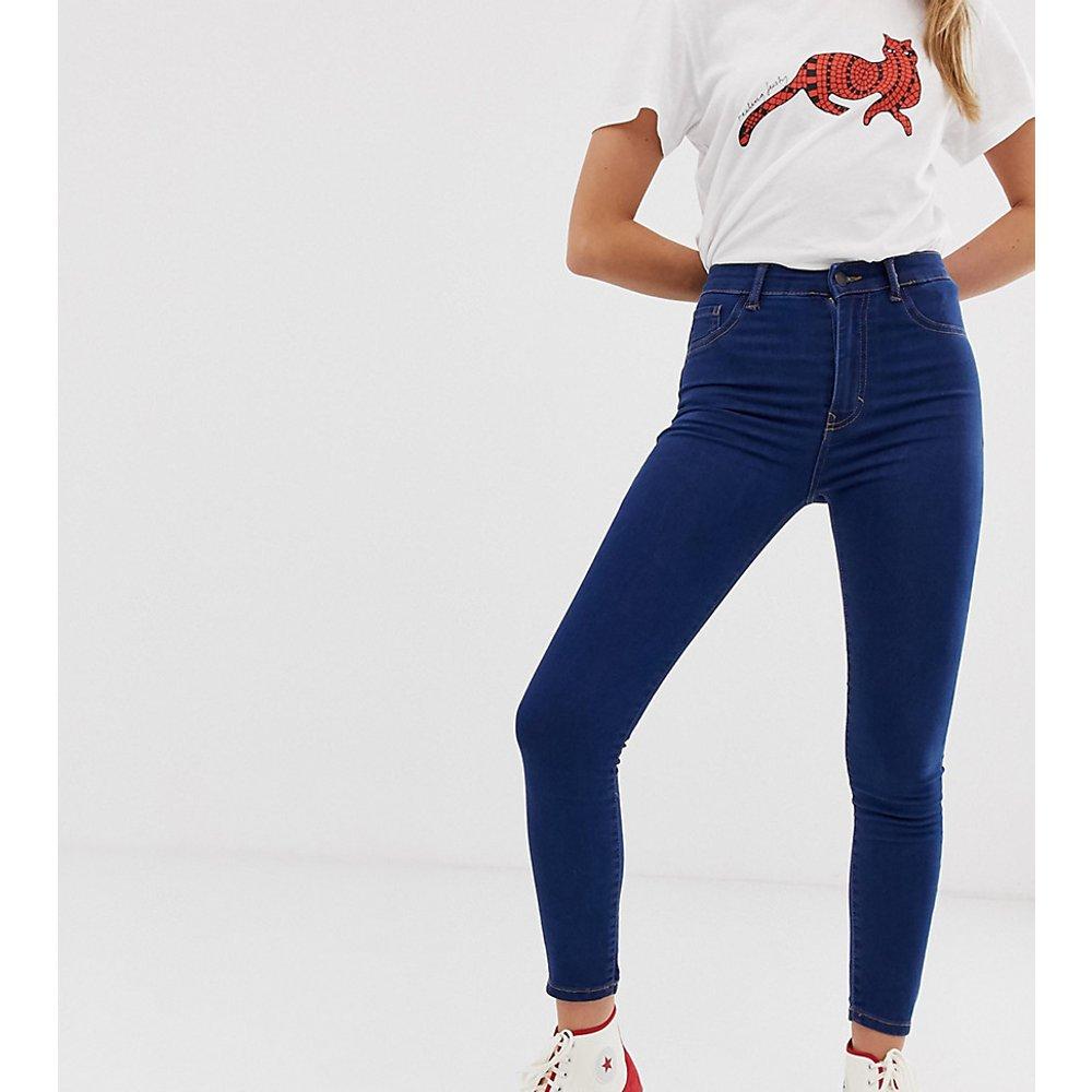 Jean skinny taille haute - foncé - Pull&Bear - Modalova