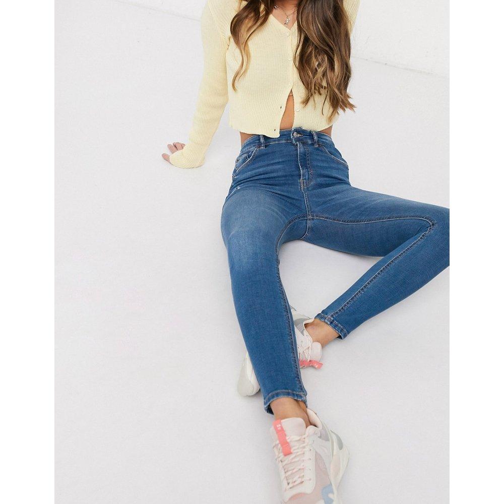 Jean skinny taille haute - moyen - Pull&Bear - Modalova