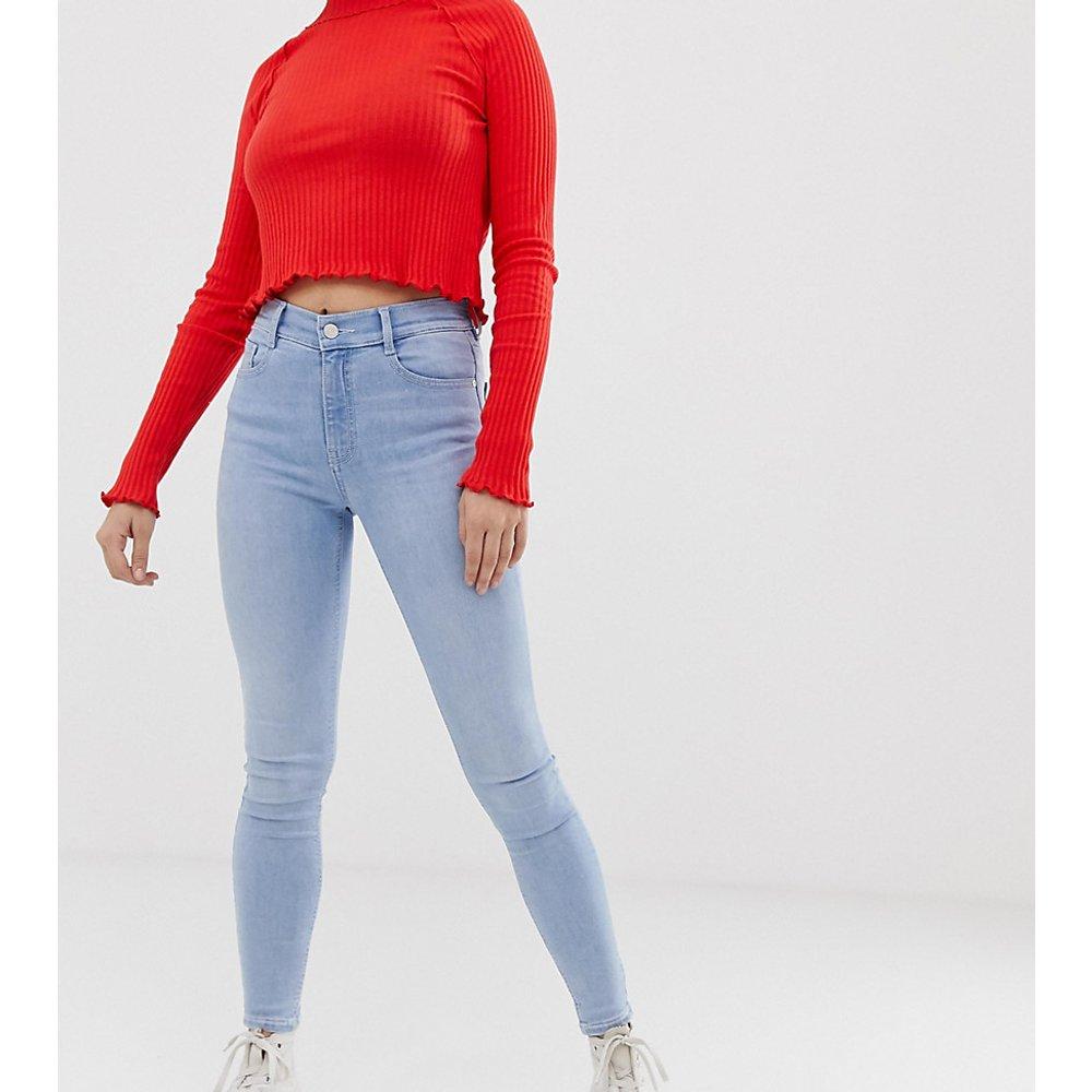Jean skinny taille mi-haute - clair - Pull&Bear - Modalova