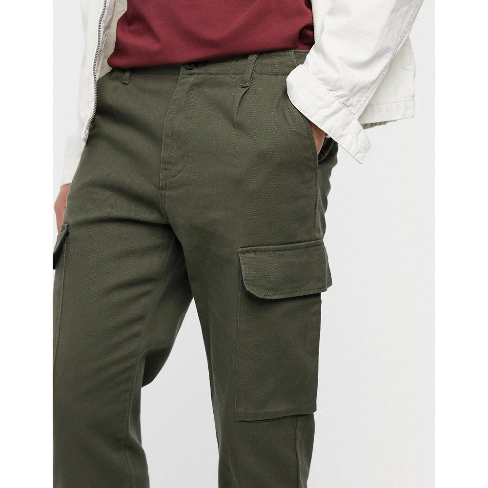 Join Life - Pantalon cargo fonctionnel - Kaki - Pull&Bear - Modalova