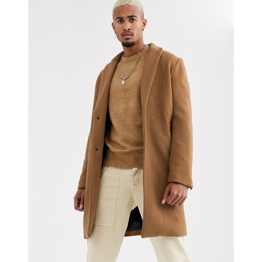 Manteau coupe classique - Fauve - Pull&Bear - Modalova