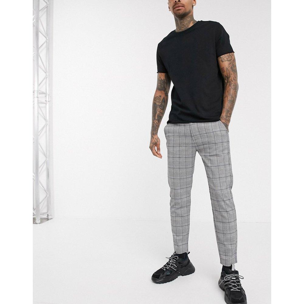 Pantalon à carreaux coupe skinny - Pull&Bear - Modalova